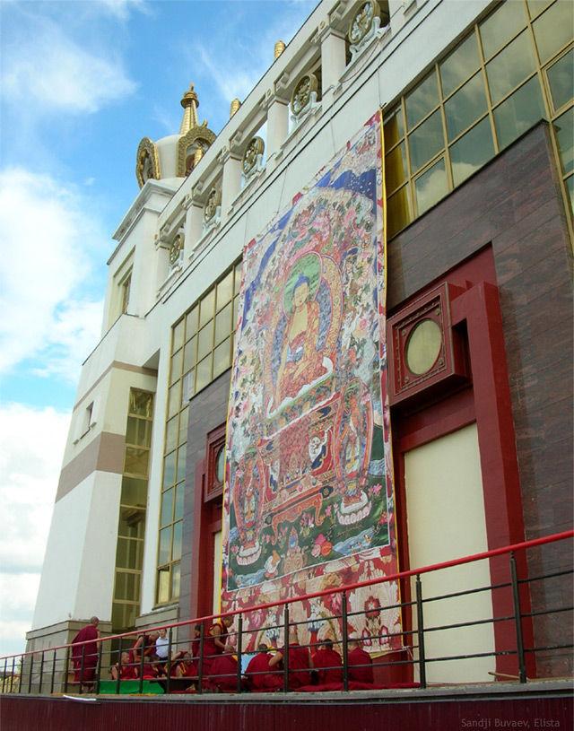 thanka of Buddha Shakyamuni
