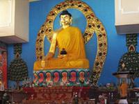Золотой Будды в Калмыкии
