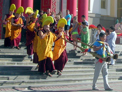 Буддийский праздник