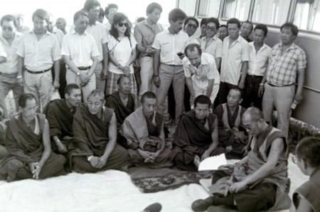 Далай-лама XIV в Элисте Калмыкия