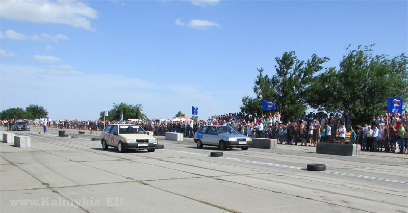 Drag battle Kalmykia