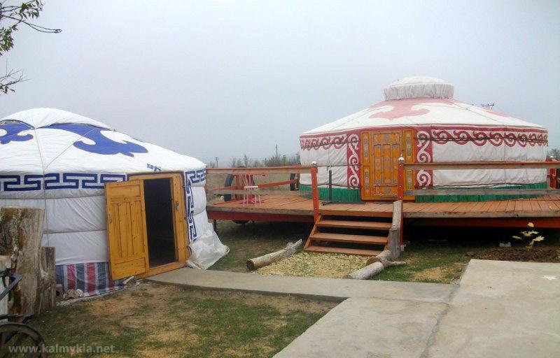 Жизнь кочевников в Калмыкии