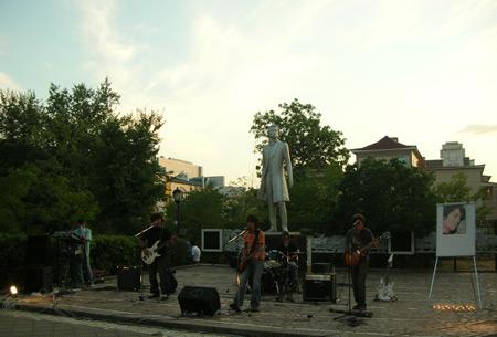Рок-концерт в Элисте